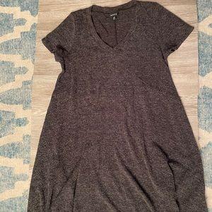 EUC Gray Jersey Dress